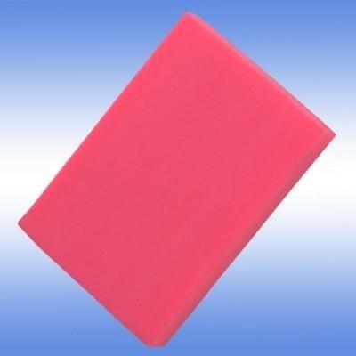 COLOURFUL ERASER in Neon Fluorescent Pink.