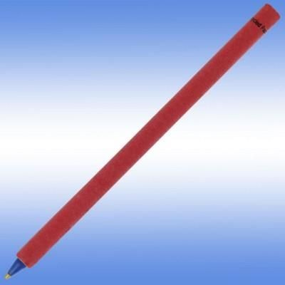 RECYCLED PAPER PEN in Red.