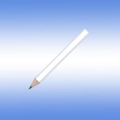 MINI NE PENCIL in White.