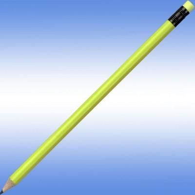 NEON FLUORESCENT PENCIL in Yellow.