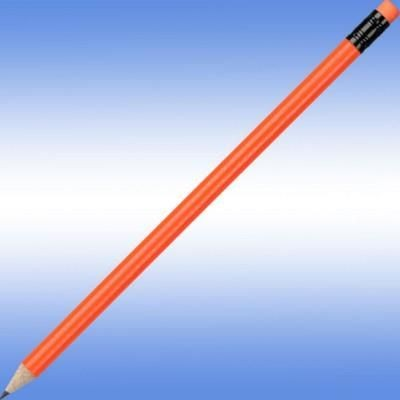 NEON FLUORESCENT PENCIL in Orange.