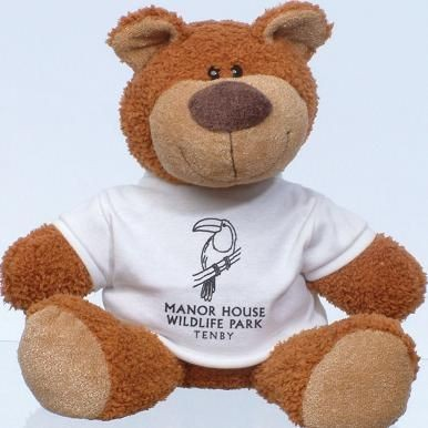 BUSTER BEAR SOFT TOY.