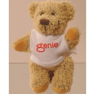 KORKY PROMOTIONAL BEAR with Printed Tee Shirt.