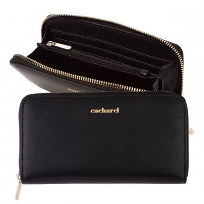 CACHAREL LADY WALLET TIMELESS BLACK.