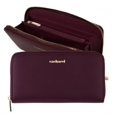 CACHAREL LADY WALLET TIMELESS BURGUNDY.