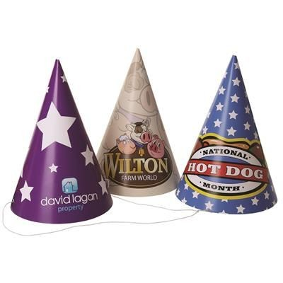 CONICAL PARTY HAT.