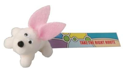RABBIT FULL ANIMAL LOGO BUG with Full Colour Printed Ribbon.