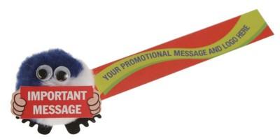 BUG SIGN HANDHOLDER LOGO BUG with Full Colour Printed Ribbon.
