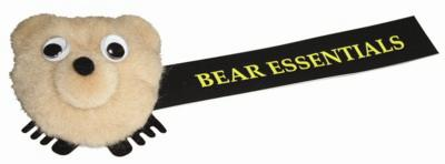 BEAR LOGO BUG with Full Colour Printed Ribbon.