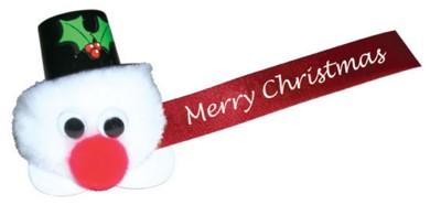 CHRISTMAS SNOWMAN LOGO BUG.