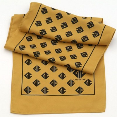 LADIES PRINTED POLYESTER SCARF with Bespoke Design.