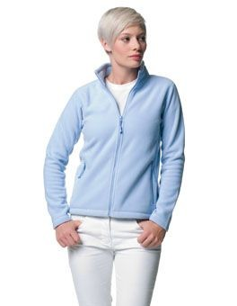JERZEES LADIES OUTDOOR FLEECE JACKET.