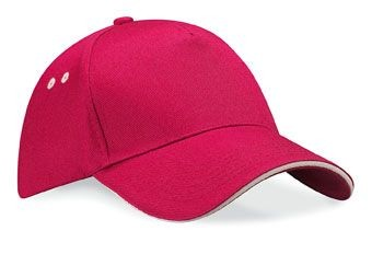 ULTIMATE COTTON BASEBALL CAP with Sandwich Peak.