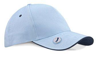 PRO-STYLE BALL MARKER GOLF CAP.