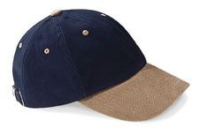HEAVY BRUSHED LOW PROFILE BASEBALL CAP.
