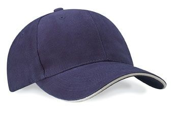 HEAVY BRUSHED PRO-STYLE BASEBALL CAP.
