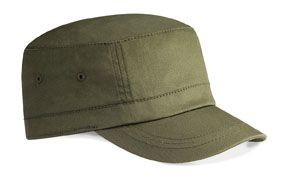 ORGANIC COTTON ARMY BASEBALL CAP.