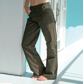 FRONT ROW LADIES UTILITY TROUSERS.