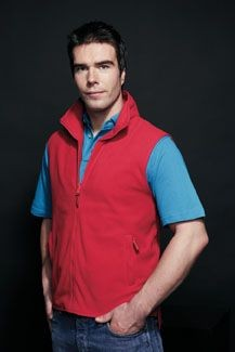 HENBURY SLEEVELESS MICRO FLEECE BODYWARMER.