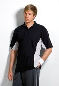 KUSTOM KIT GAMEGEAR TRACK PIQUE POLO SHIRT.