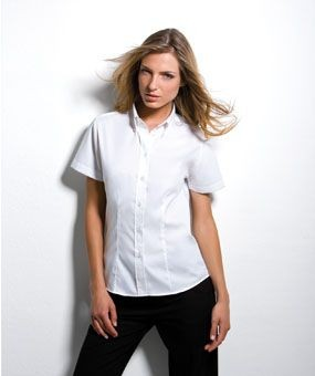 KUSTOM KIT LADIES SHORT SLEEVE PREMIUM SHIRT.