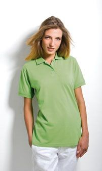 KUSTOM KIT LADIES KLASSIC PIQUE POLO SHIRT.