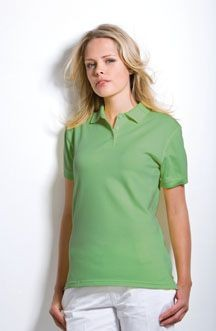 KUSTOM KIT KATE LADIES PIQUE POLO SHIRT.