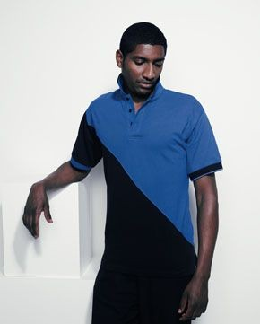 FINDEN & HALES TEAM PIQUE POLO SHIRT.