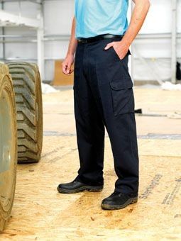 RTY COTTON CARGO TROUSERS.