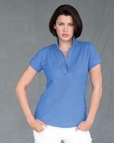 SKINNIFIT LADIES CLUB POLO SHIRT.