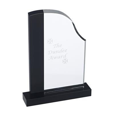 DUNDEE AWARD in Clear Transparent & Black.