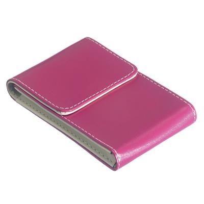 DEBUTANTE BUSINESS CARD POCKET HOLDER CASE in Pink.