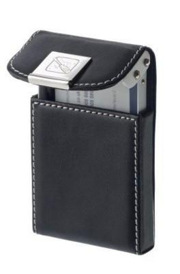 LEVANT CARD CASE in Black.
