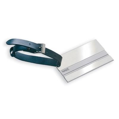 LUGGAGE TAG in Silver.