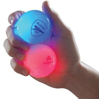FLASHING BOUNCING BALL.