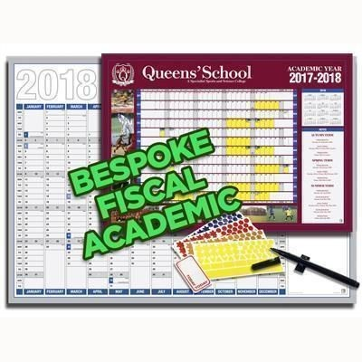 ANY SIZE BESPOKE, ACADEMIC OR FISCAL YEAR PLANNER.