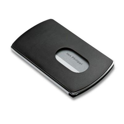 PHILIPPI NIC POCKET METAL BUSINESS CARD HOLDER in Black.