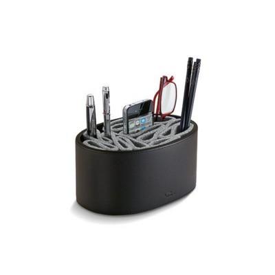PHILIPPI GIORGIO UTILITY BOX EXECUTIVE DESK TIDY ORGANIZER in Black.