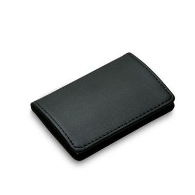 PHILIPPI GIANNI BUSINESS CARD HOLDER in Silver & Black.
