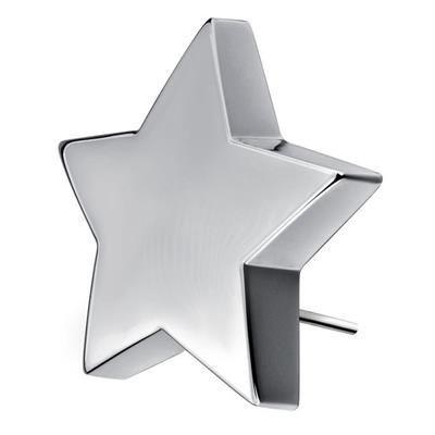 SHINING STAR TROPHY AWARD in Silver Finish.
