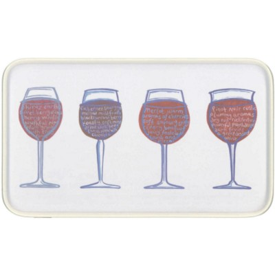 MELAMINE RECTANGULAR KITCHEN SERVING TRAY.