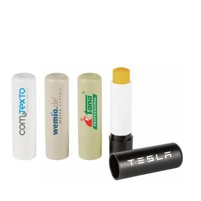 NATURAL GREEN RECYCLED PLASTIC LIP BALM STICK.