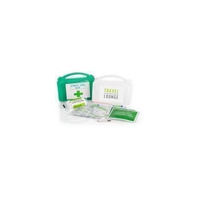 FIRST AID KIT in White.