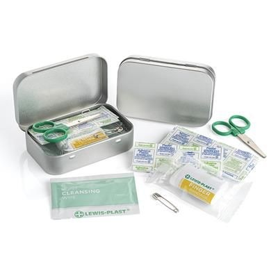 FIRST AID KIT in Tin.