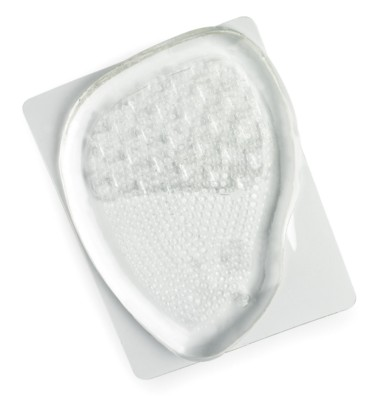 PAIR OF GEL PARTY FEET SHOE CUSHIONS in Clear Transparent.