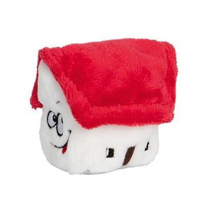 SCHMOOZIE PLUSH TOY HOUSE in Red.