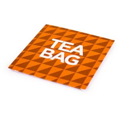 TEA BAG in a Branded Envelope.