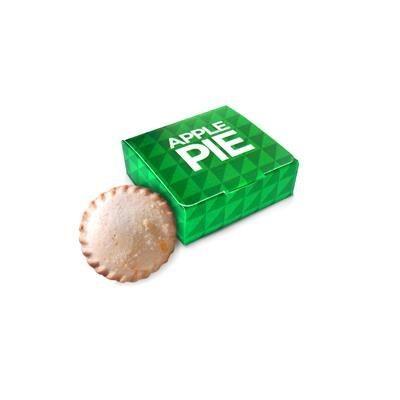 APPLE PIE in CMYK Branded Box.