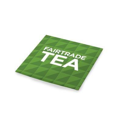 FAIRTRADE TEA ENVELOPE.