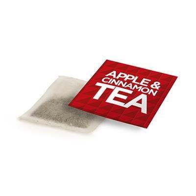 APPLE & CINNAMON TEA ENVELOPE.